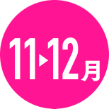 11月→12月